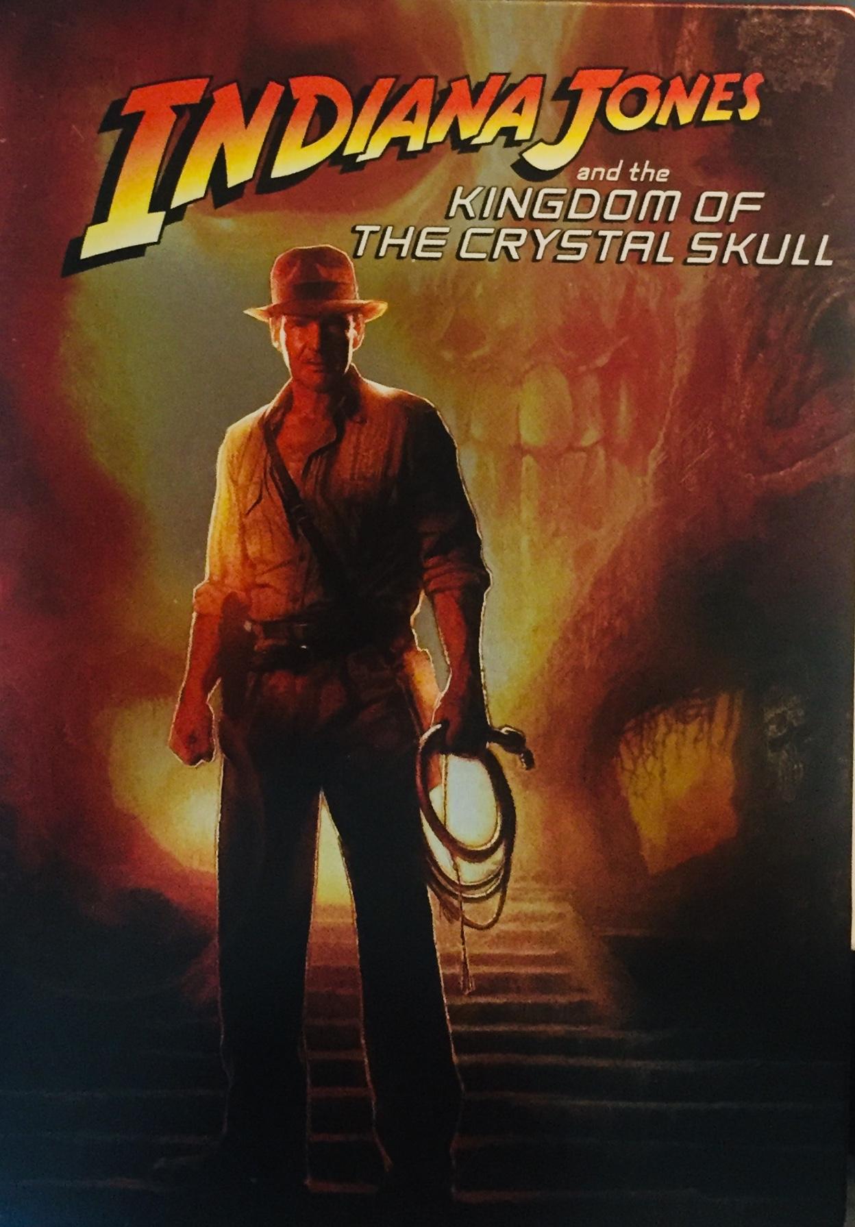 Indiana Jones and the Kingdom of the Crystal Skull / Indiana Jones a Království křišťálové lebky - 2xDVD /kov/