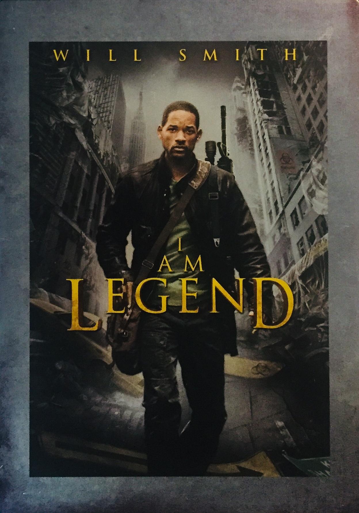I am Legend / Já, legenda - 2xDVD /kov/