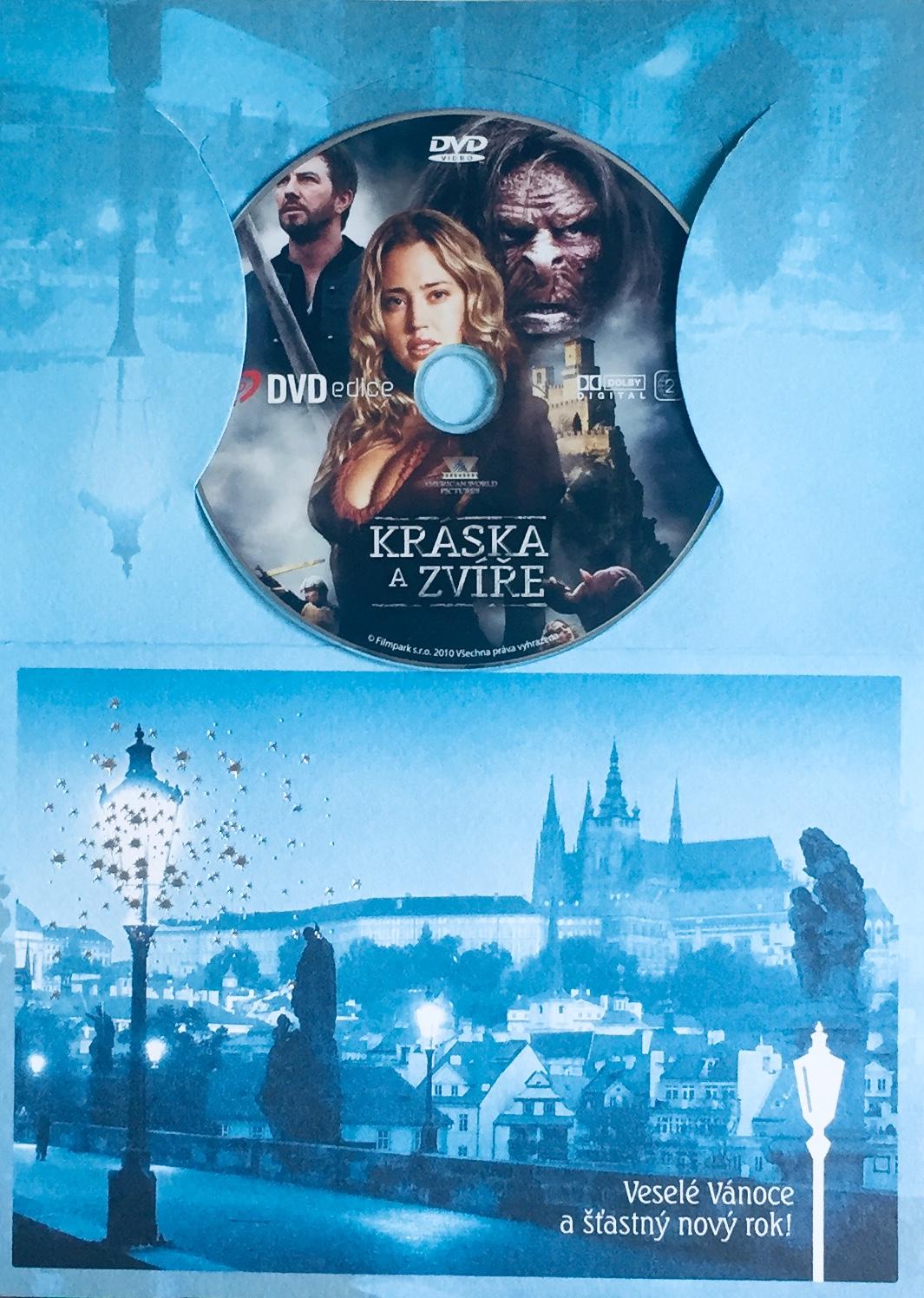Kráska a zvíře - DVD /dárkový obal/