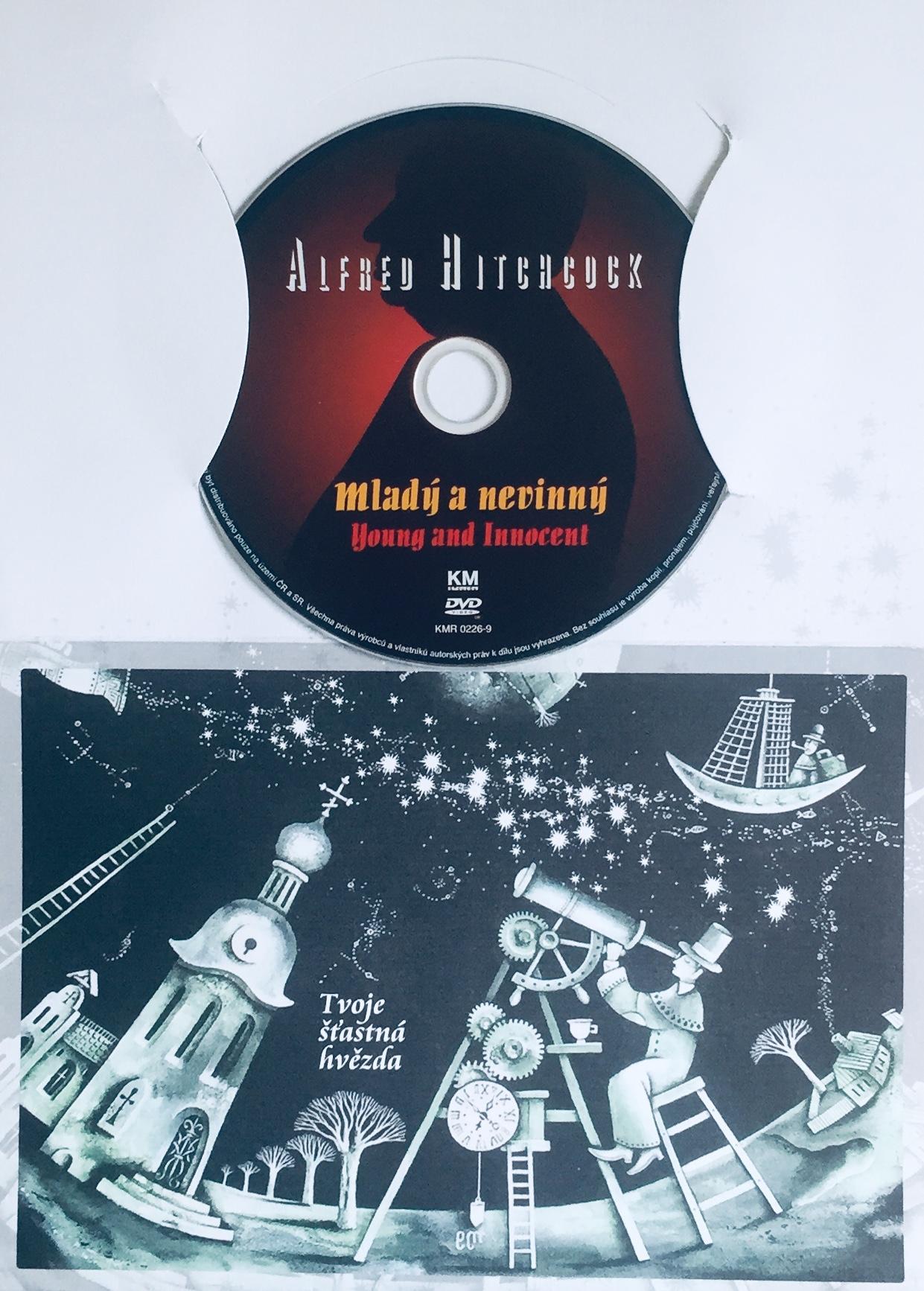 Mladý a nevinný - DVD /dárkový obal/