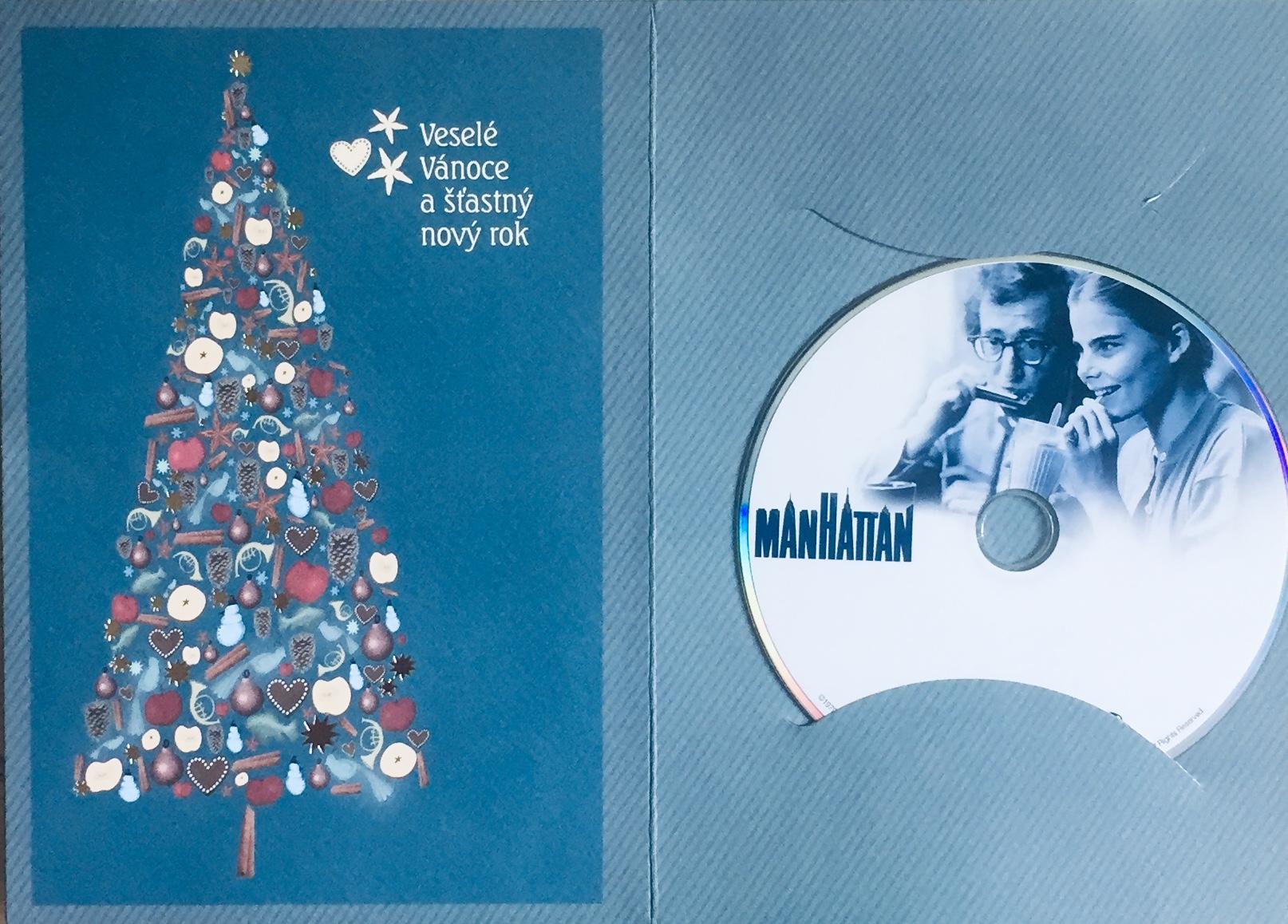 Manhattan - DVD /dárkový obal/