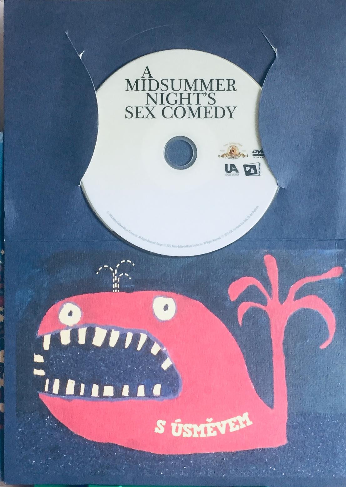 A Midsummer Night's Sex Comedy / Sex noci Svatojánské - DVD /dárkový obal/