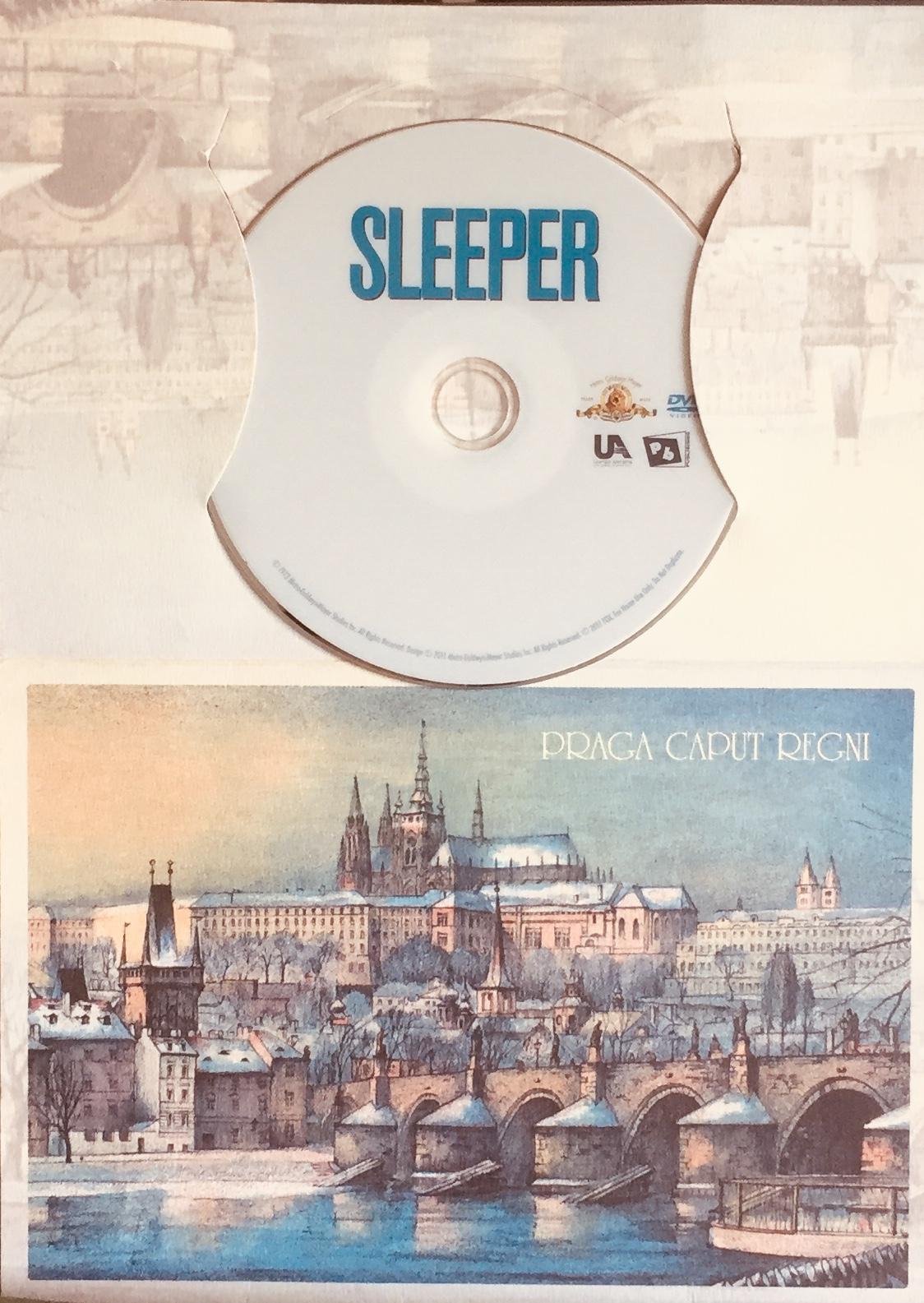 Sleeper / Spáč - DVD /dárkový obal/