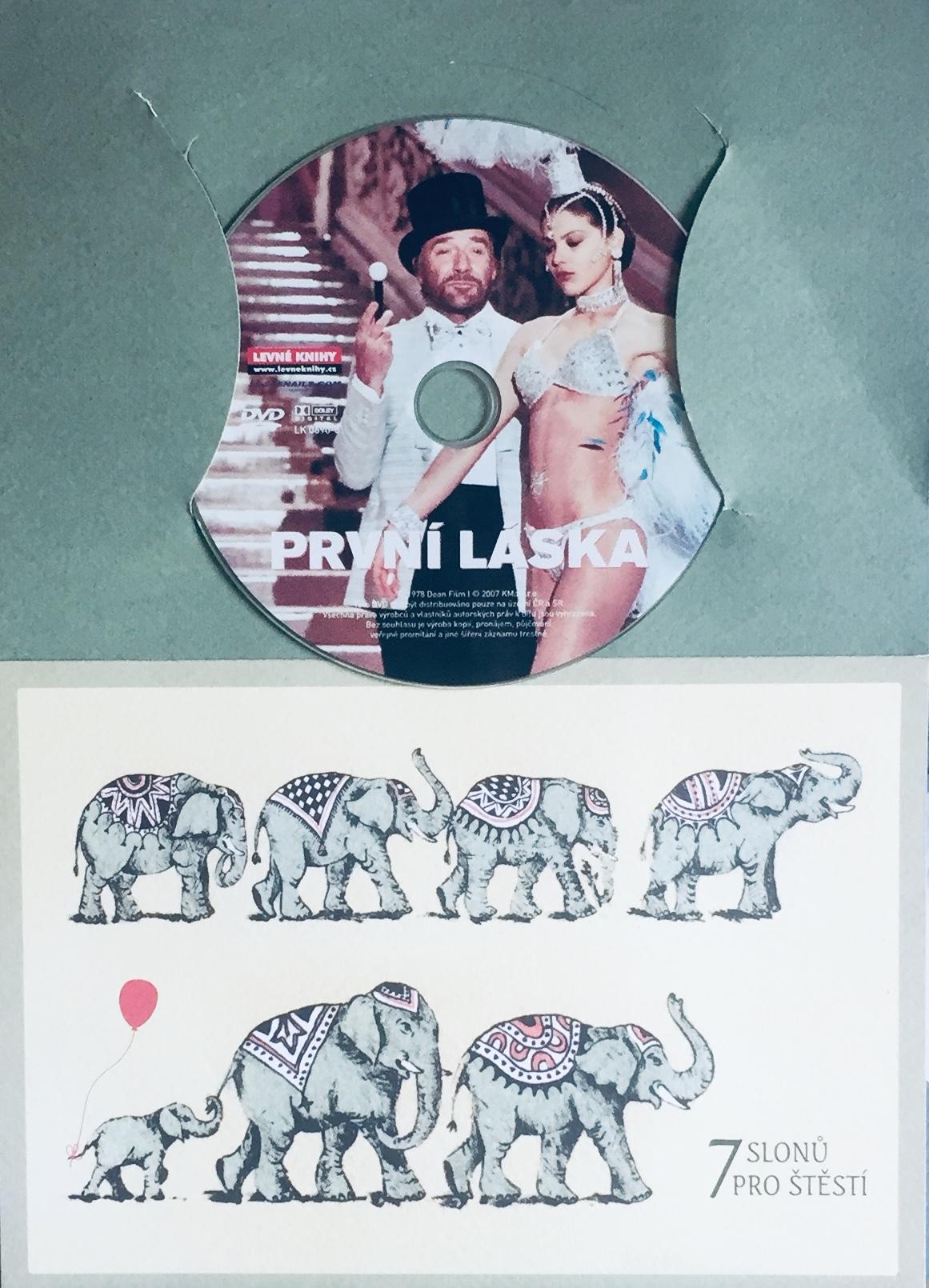 První láska - DVD /dárkový obal/