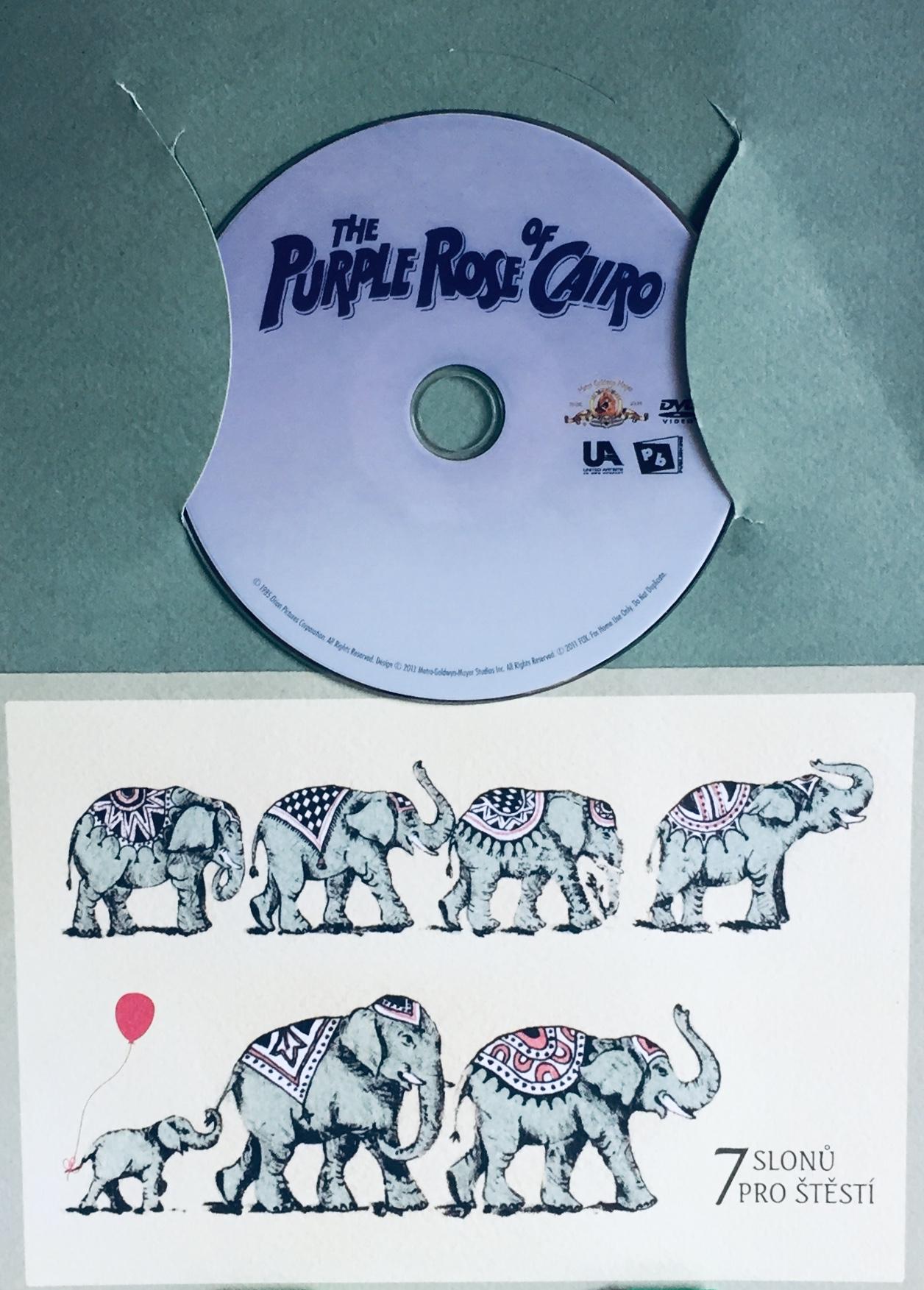 The Purple Rose of Cairo / Purpurová růže z Káhiry - DVD /dárkový obal/