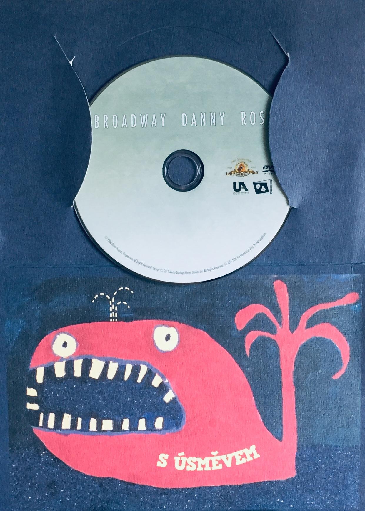 Broadway Danny Rose / Danny Rose z Broadwaye - DVD /dárkový obal/