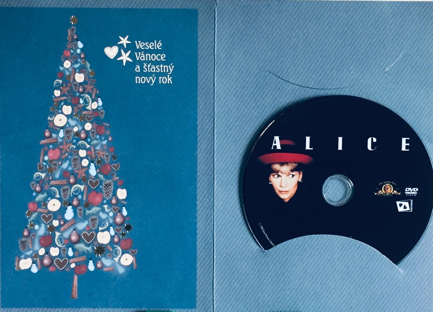 Alice - DVD /dárkový obal/