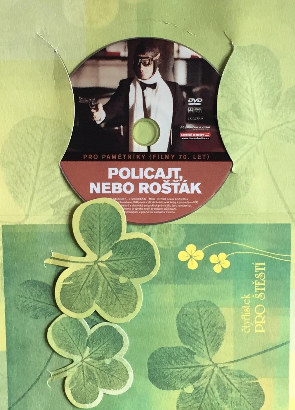 Policajt nebo rošťák - DVD /dárkový obal/