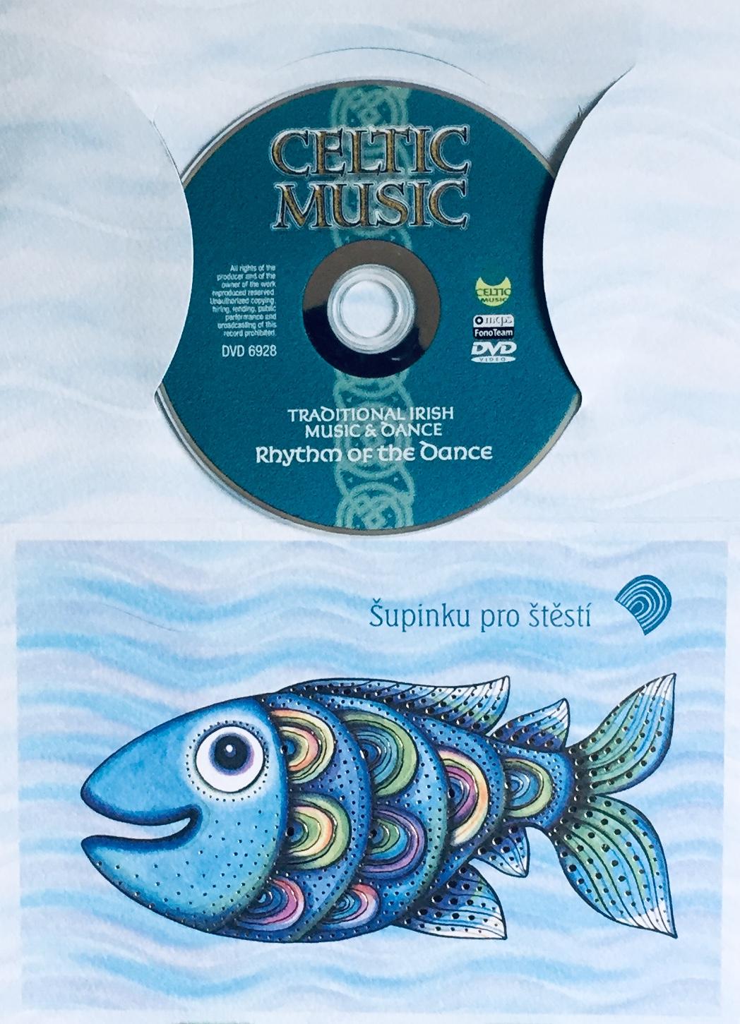Celtic Music - DVD /dárkový obal/