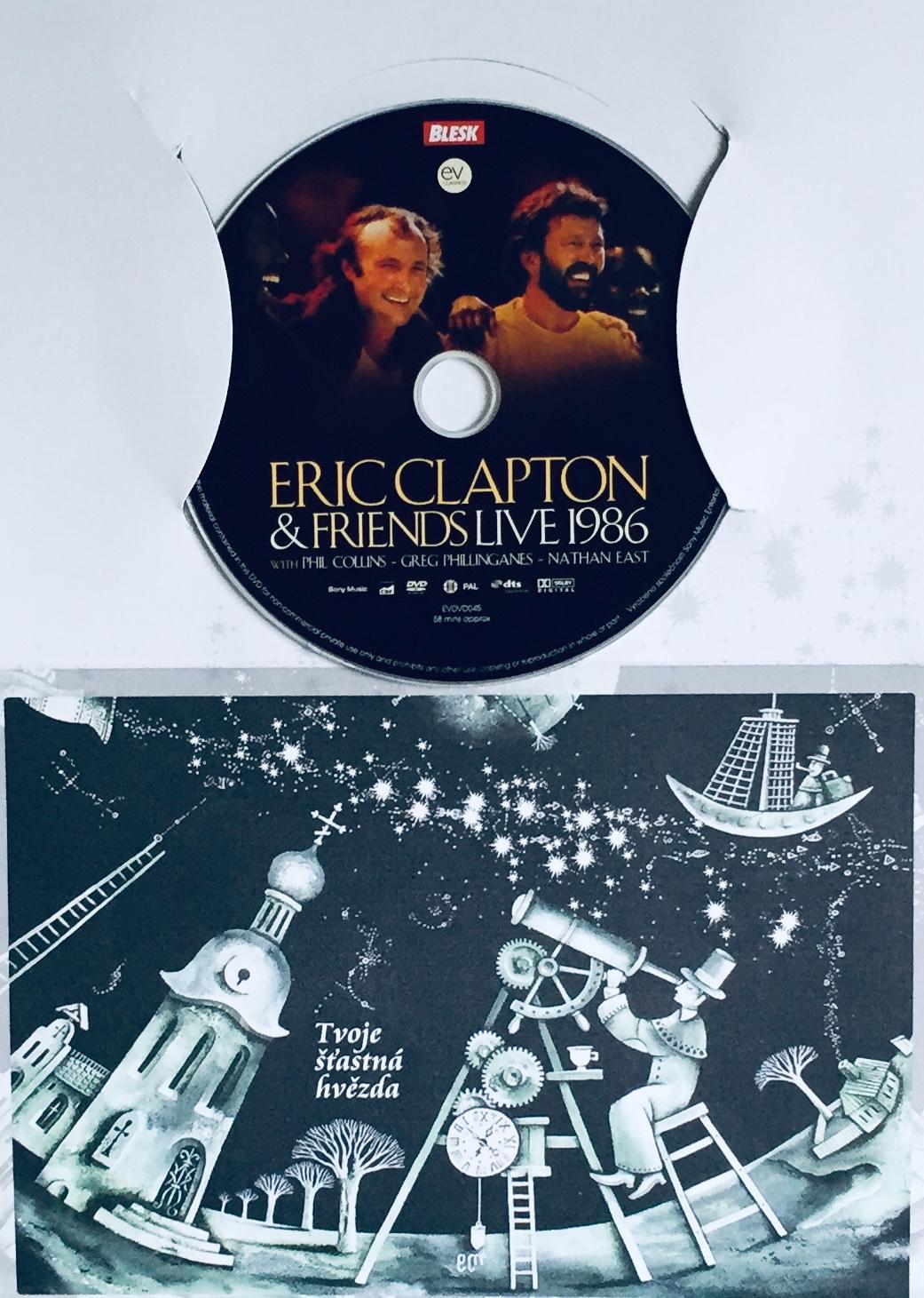 Eric Clapton & Friends - Live 1986 - DVD /dárkový obal/