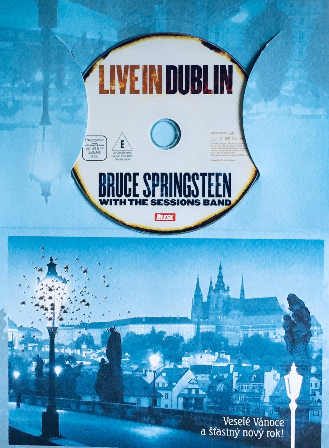 Bruce Springsteen - Live in Dublin - DVD /dárkový obal/