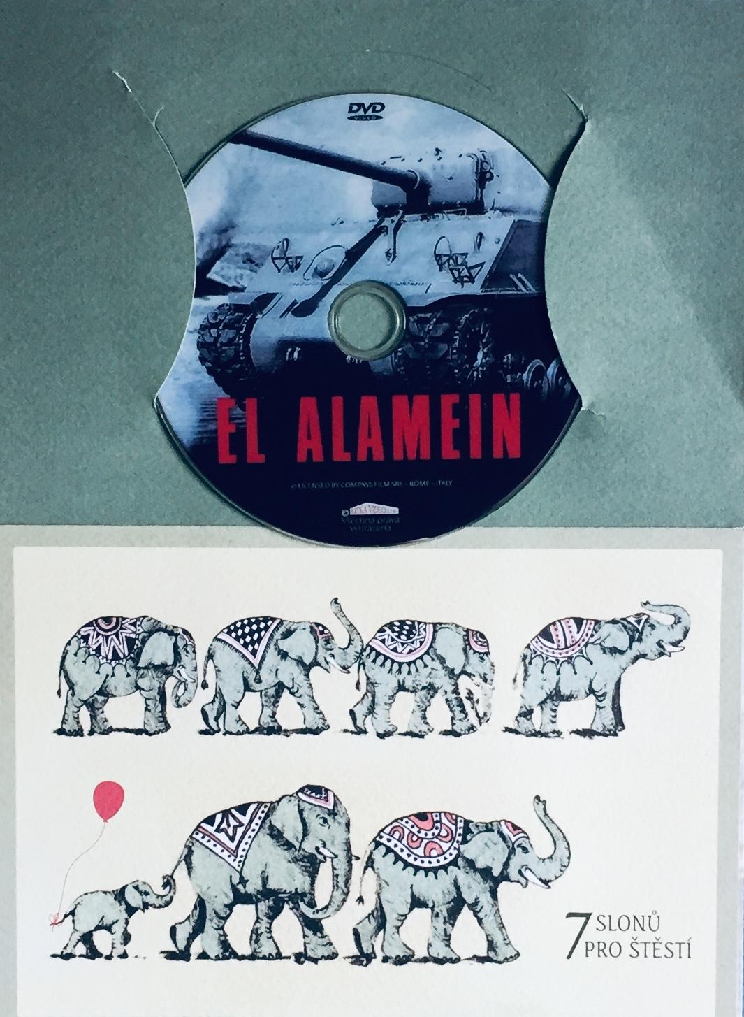 El Alamein - DVD /dárkový obal/