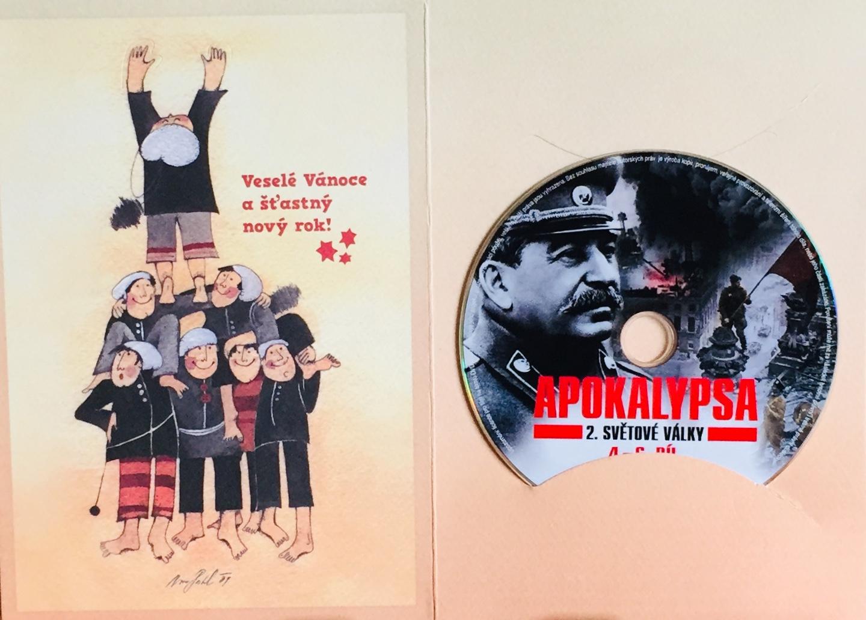 Apokalypsa 2. světové války - 4.-6. díl - DVD /dárkový obal/