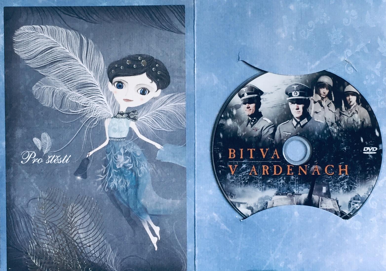 Bitva v Ardenách - DVD /dárkový obal/