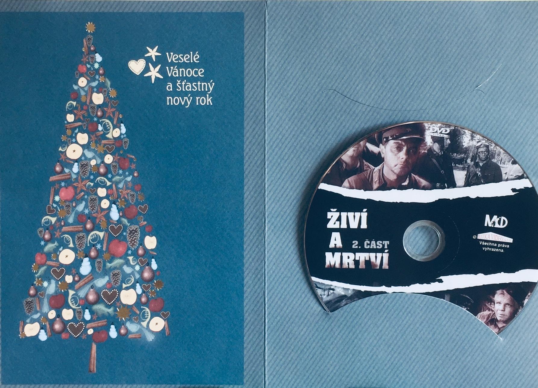 Živí a mtrví 2 - DVD /dárkový obal/