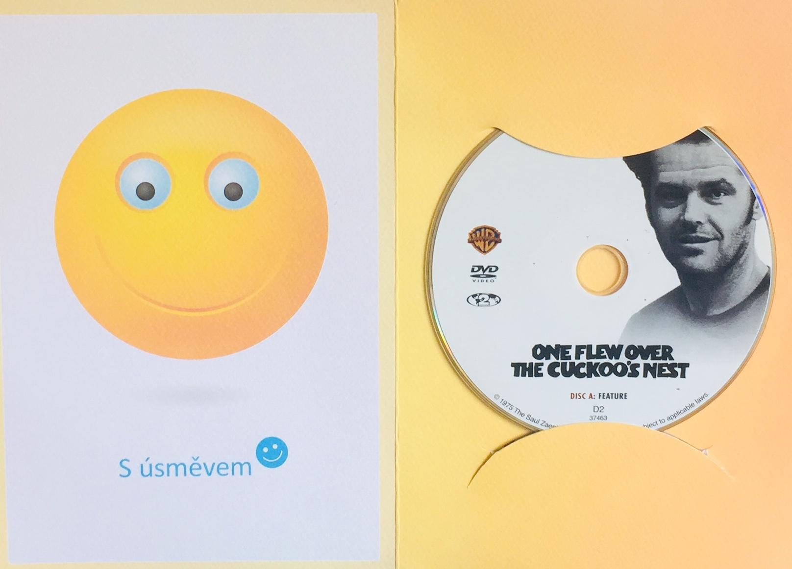 One Flew over the Cuckoo's Nest / Přelet nad kukaččím hnízdem - DVD /dárkový obal/