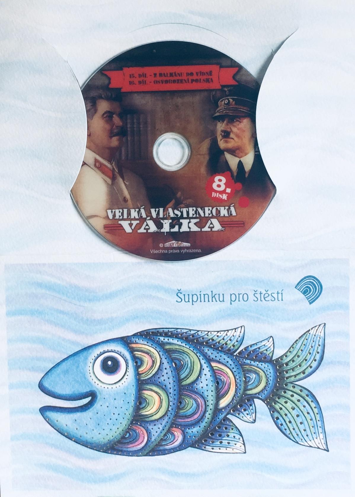 Velká vlastenecká válka disk 8. - DVD /dárkový obal/