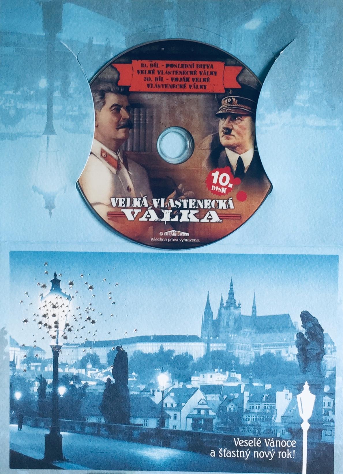 Velká vlastenecká válka disk 10. - DVD /dárkový obal/