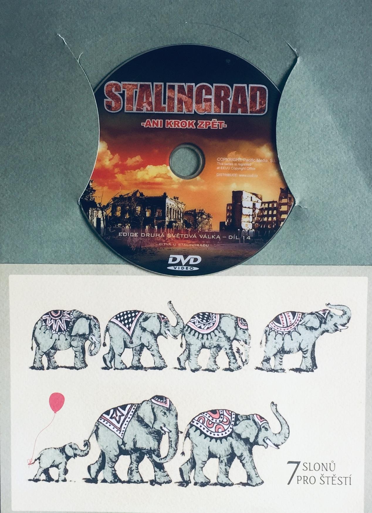 Stalingrad - Ani krok zpět - DVD /dárkový obal/