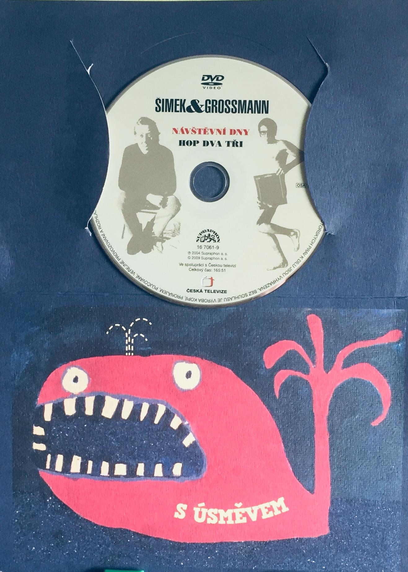 Šimek a Grossmann - Návštěvní dny Hop dva tři - DVD /dárkový obal/