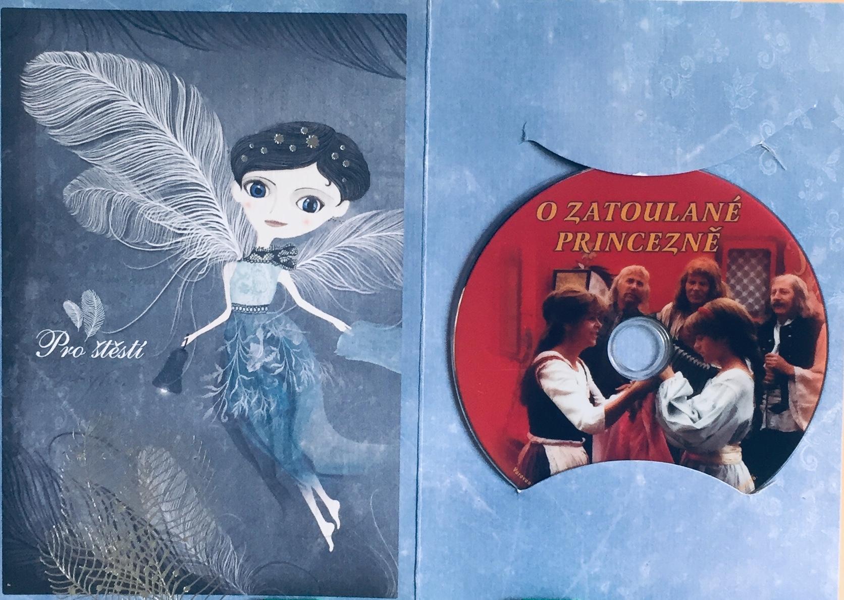 O zatoulané princezně - DVD /dárkový obal/