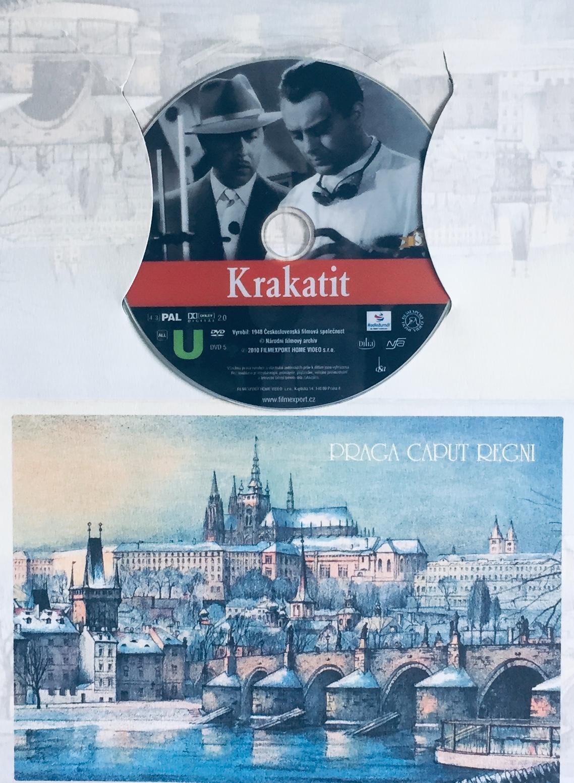 Krakatit - DVD /dárkový obal/