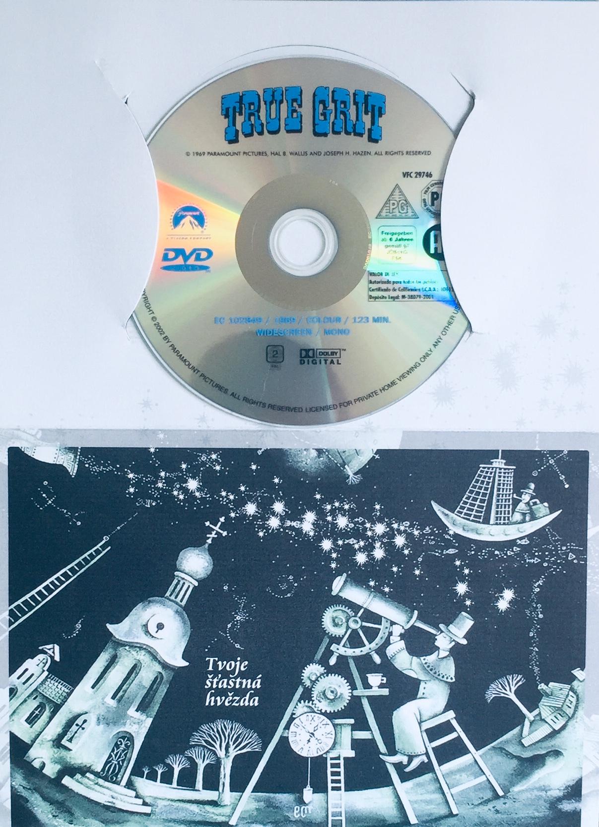 True Grit / Maršál - DVD /dárkový obal/