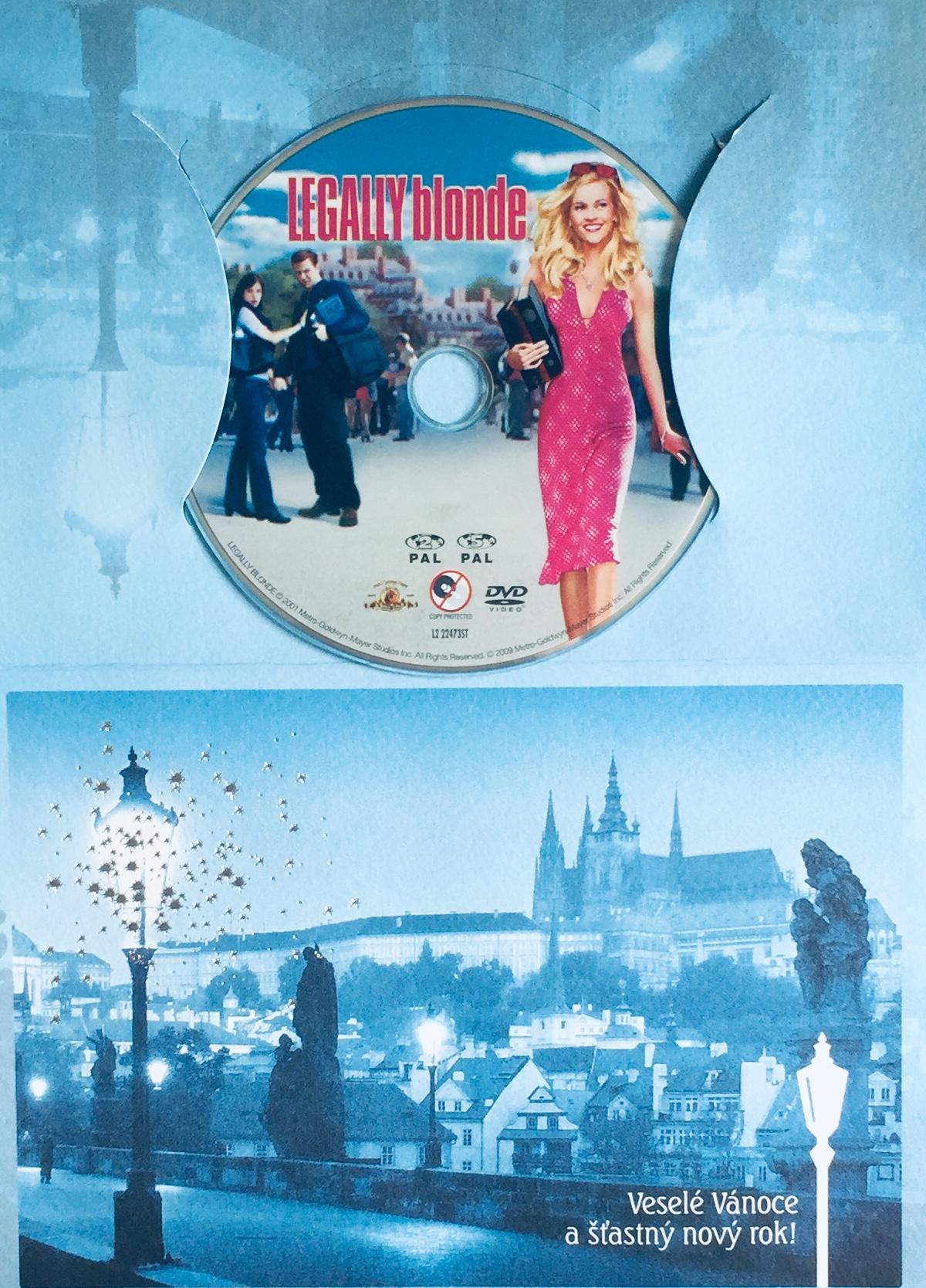 Legally Blonde / Pravá blondýnka - DVD /dárkový obal/