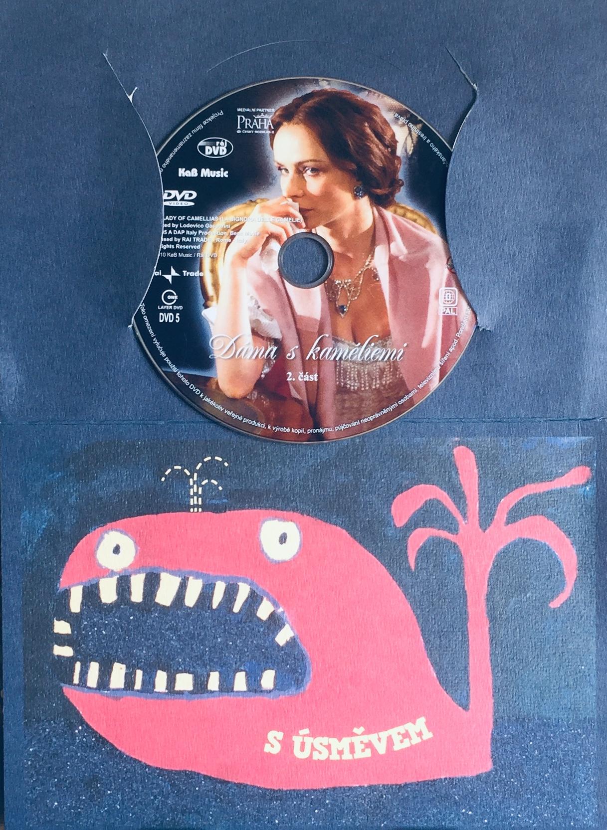 Dáma s kaméliemi - 2. část - DVD /dárkový obal/