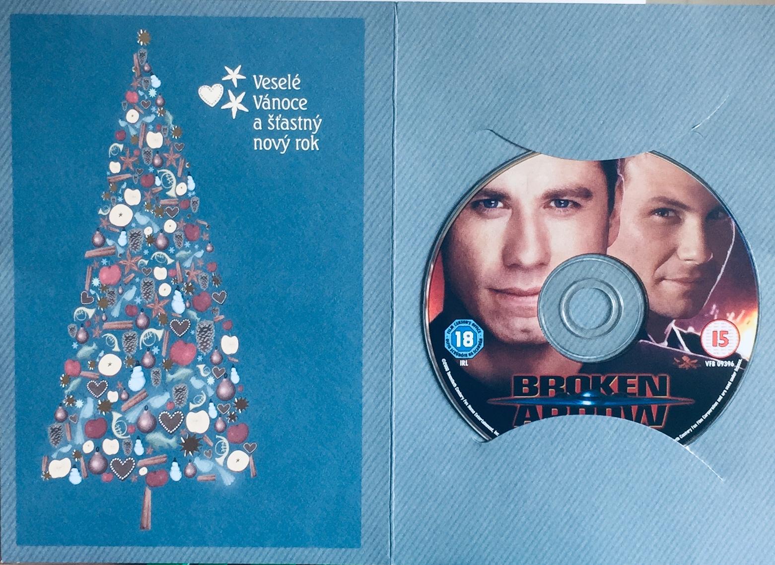 Broken Arrow / Operace zlomený šíp - DVD /dárkový obal/