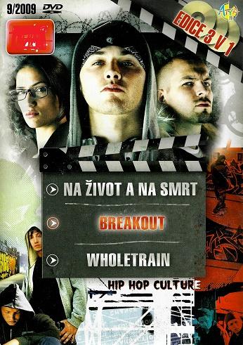 3x DVD Naživot a na smrt / Breakout / Wholetrain ( pošetky ) DVD