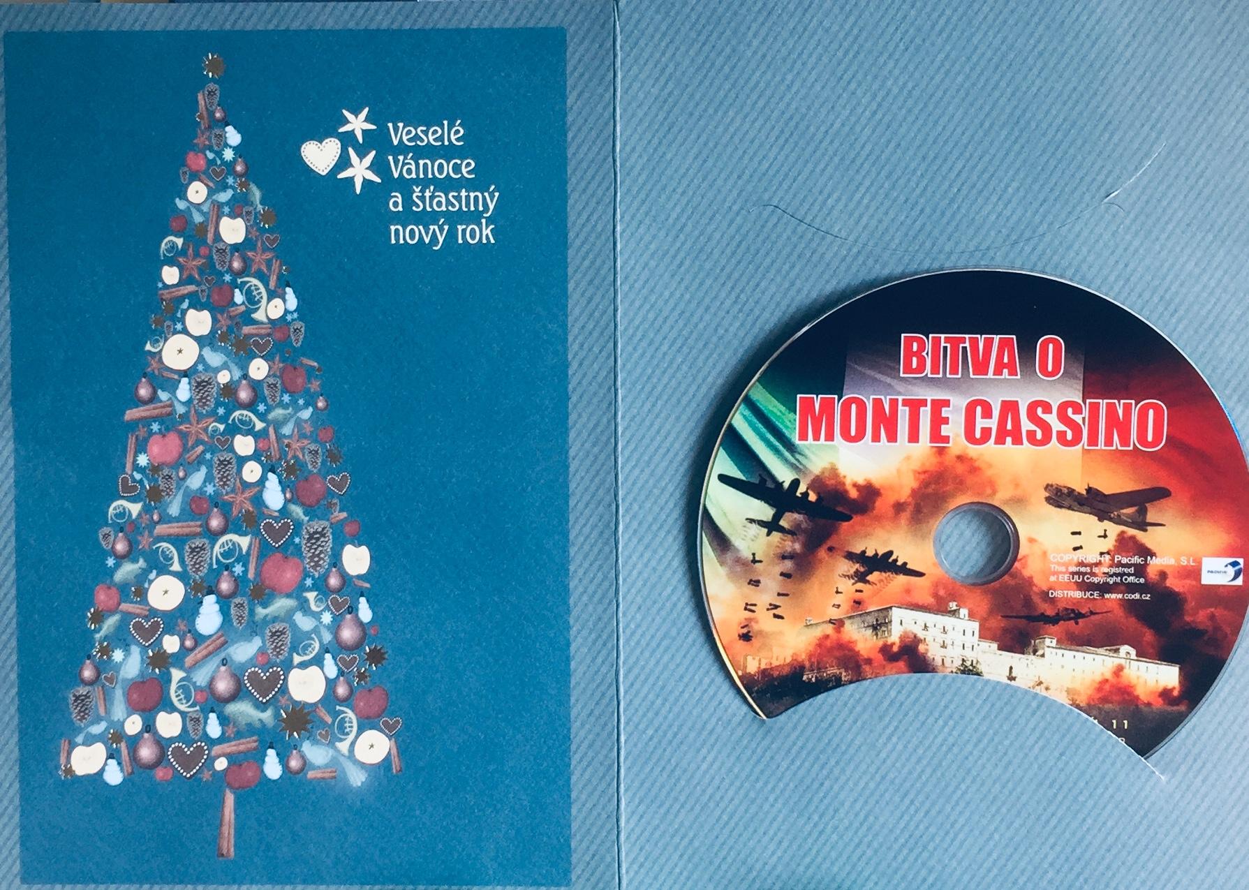 Bitva o Monte Cassino - DVD /dárkový obal/