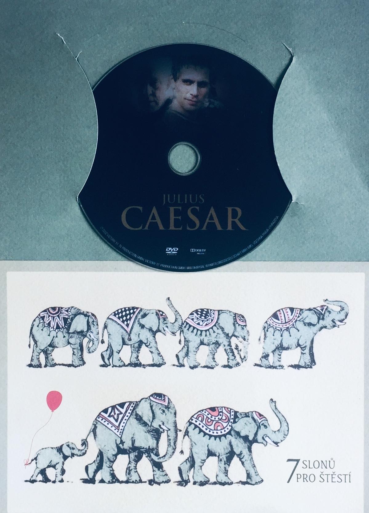 Julius Caesar - DVD /dárkový obal/