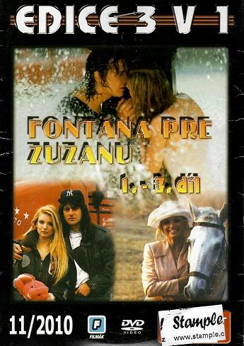 3x DVD Fontana pro Zuzanu 1-3 ( pošetky ) DVD