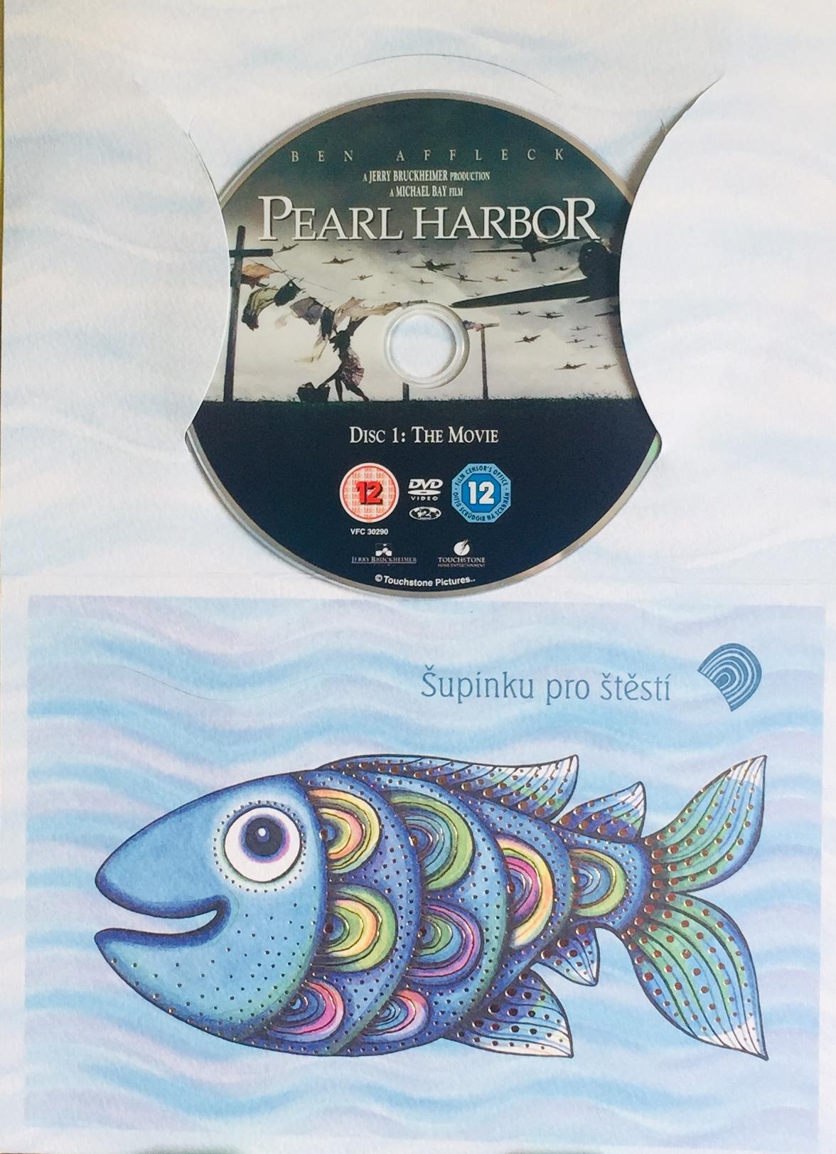 Pearl Harbor  - DVD /dárkový obal/