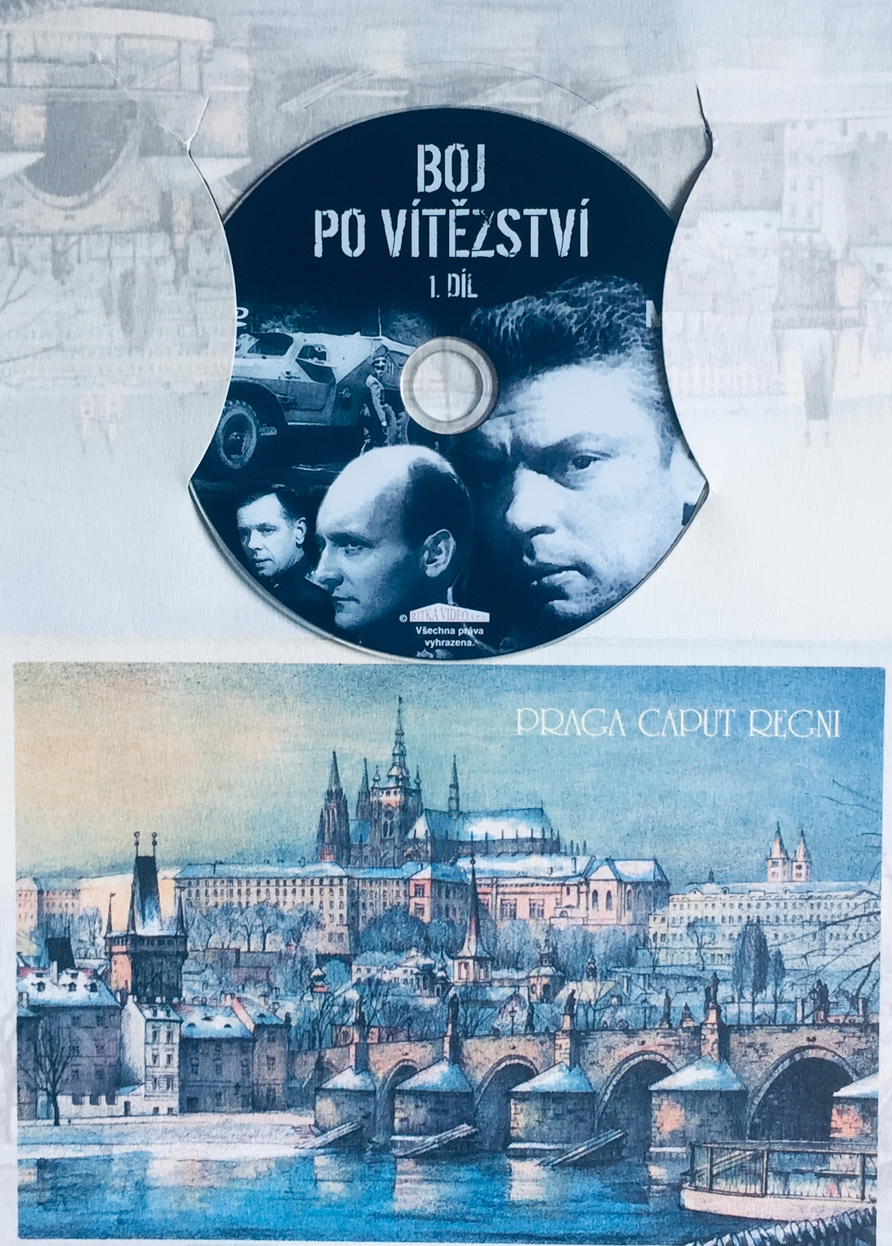 Boj po vítězství - 1. díl - DVD /dárkový obal/