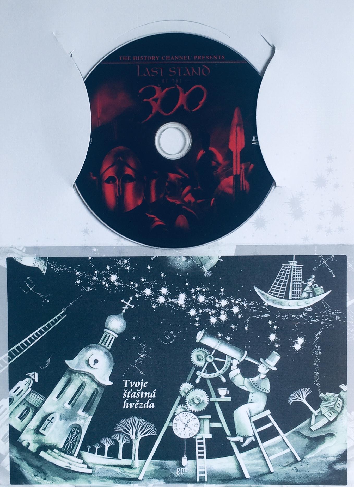 Last Stand of the 300 / 300 Sparťanů - DVD /dárkový obal/