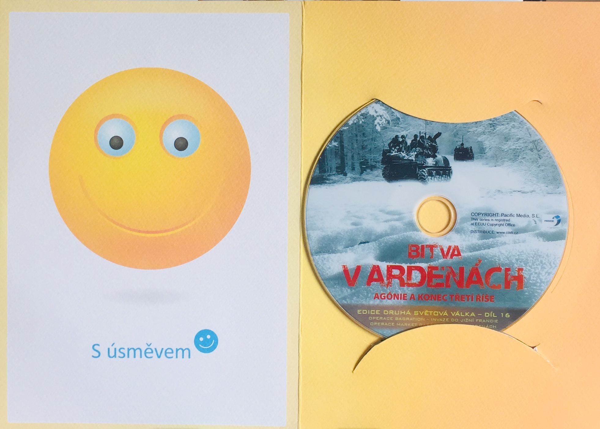 Bitva v Ardenách - Agónie a konec Třetí říše - DVD /dárkový obal/