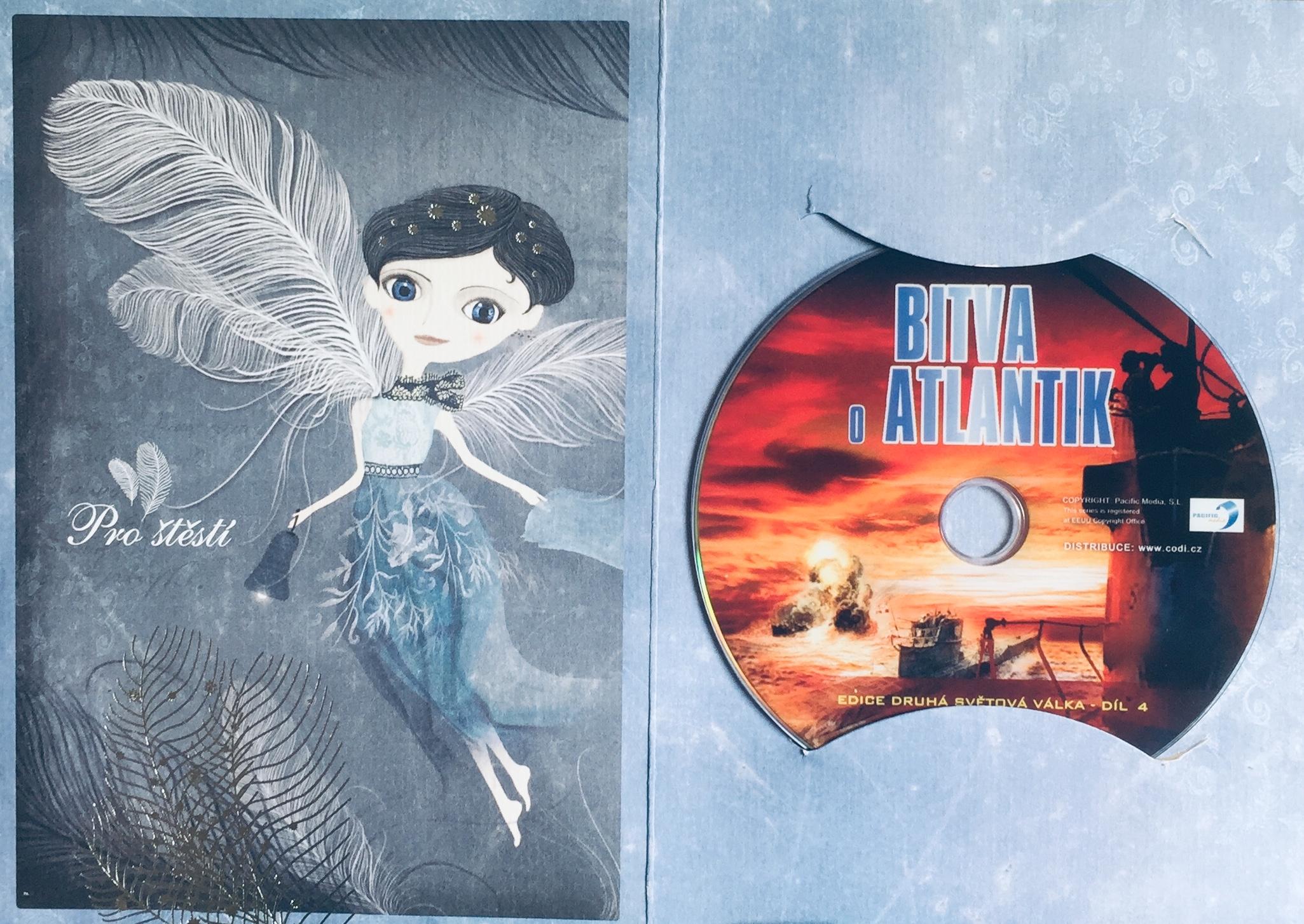 Bitva o Atlantik - DVD /dárkový obal/