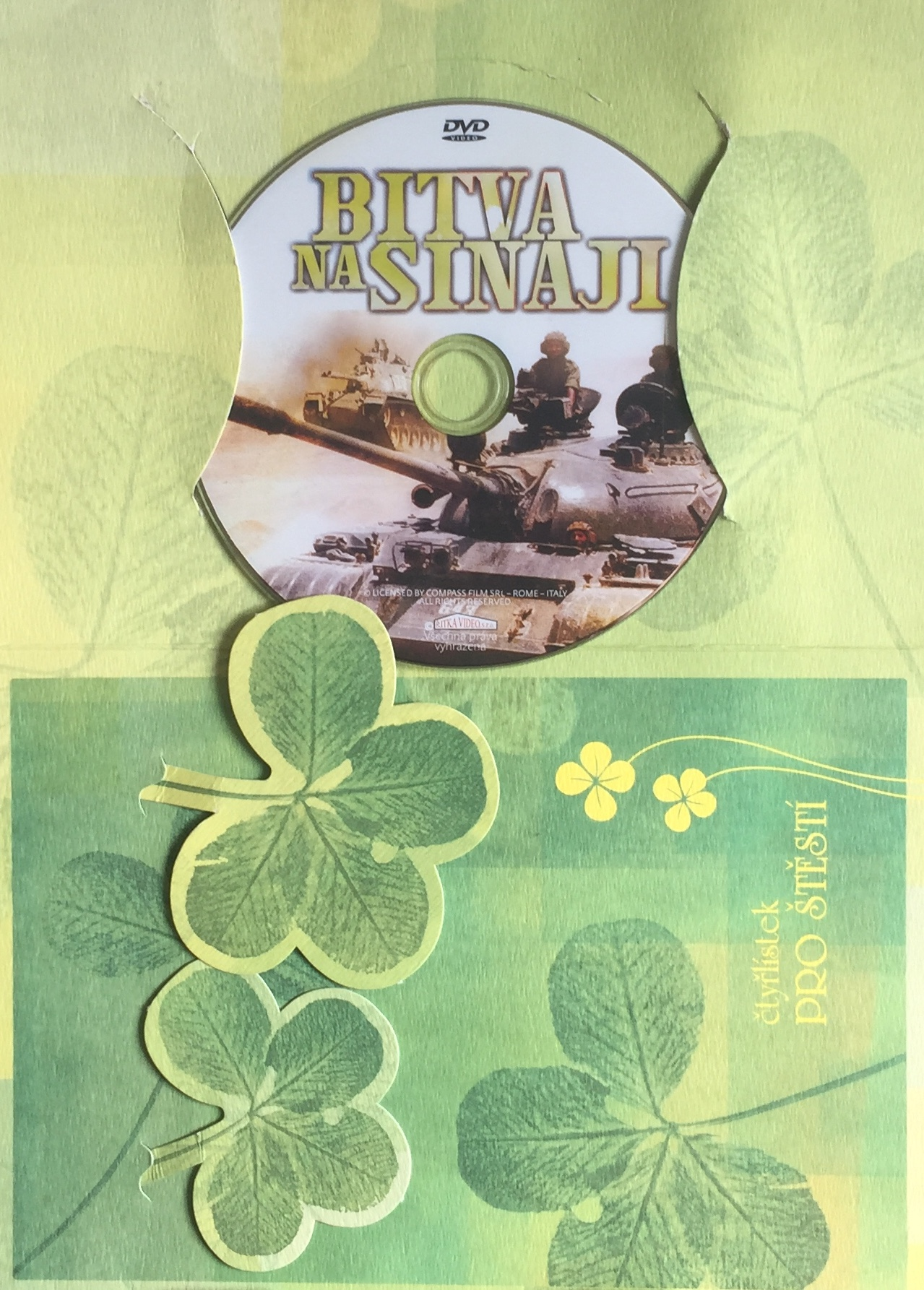 Bitva na Sinaji - DVD /dárkový obal/