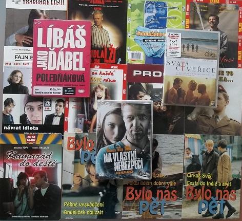 Kolekce Jiří Langmajer - 15 DVD