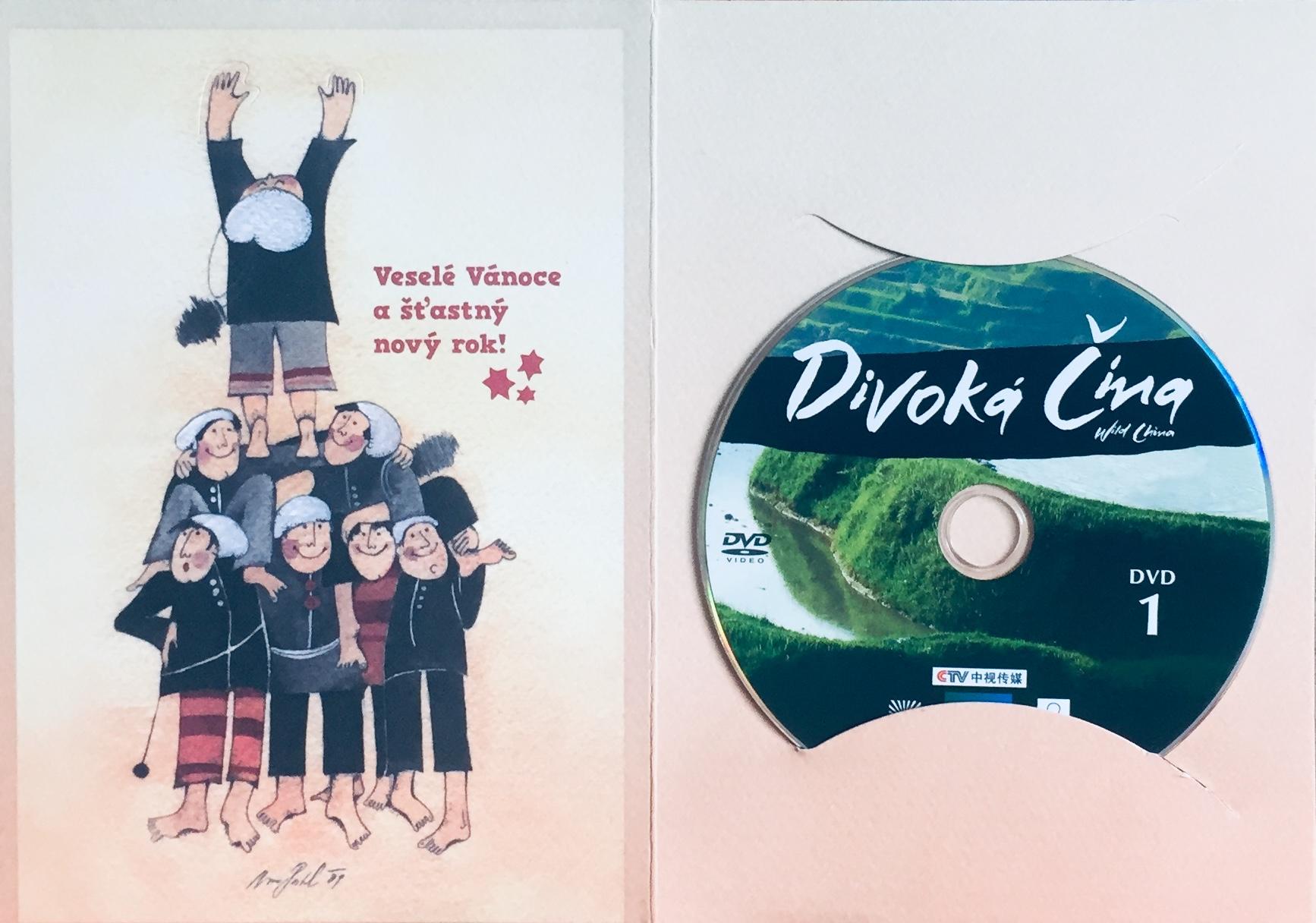 Divoká Čína 1 - DVD /dárkový obal/