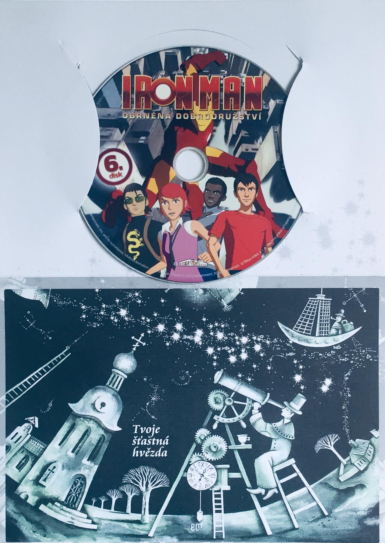 Iron Man - Obrněná dobrodružství 6 - DVD /dárkový obal/