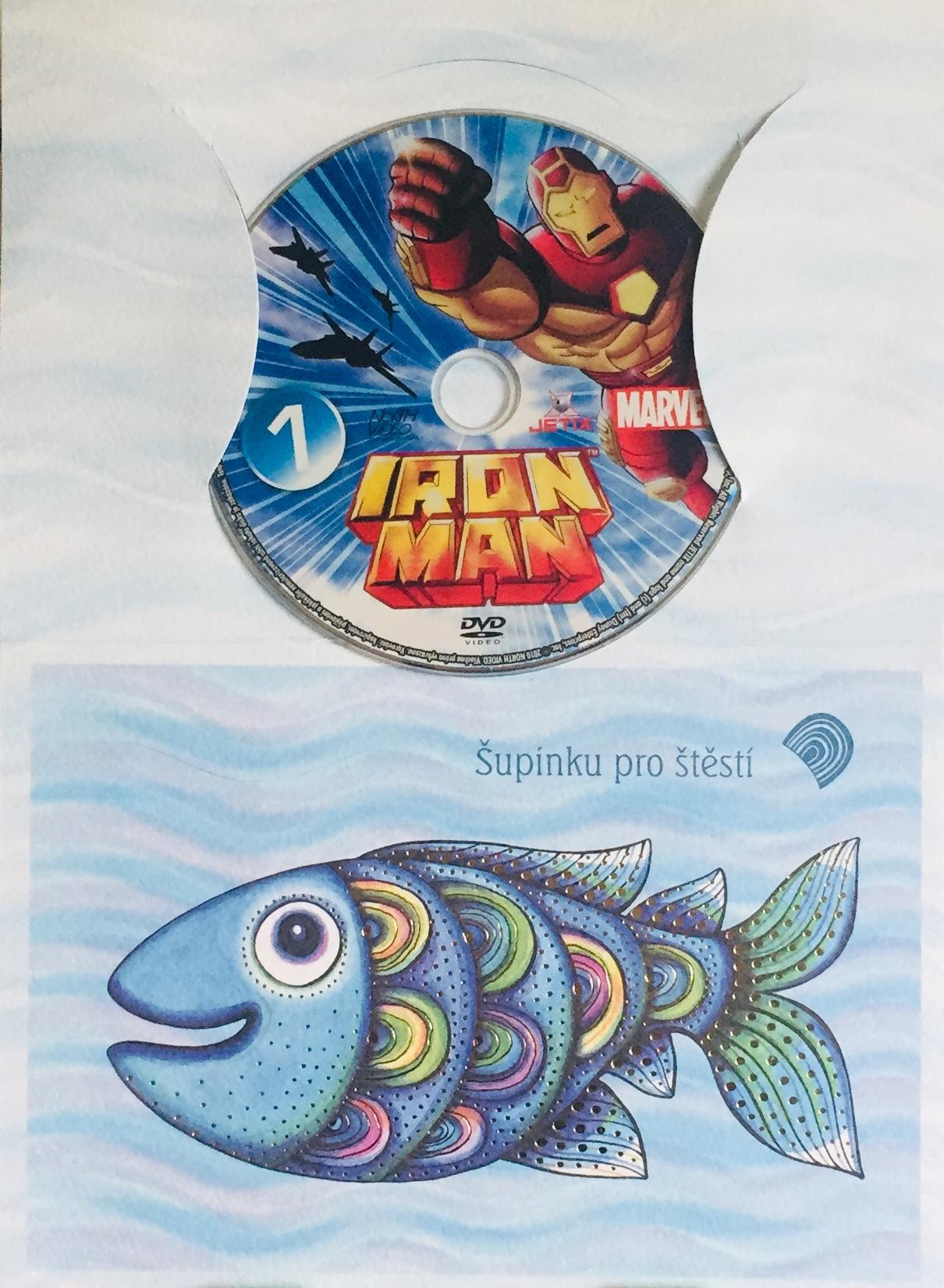 Iron Man 1 /marvel/ - DVD /dárkový obal/