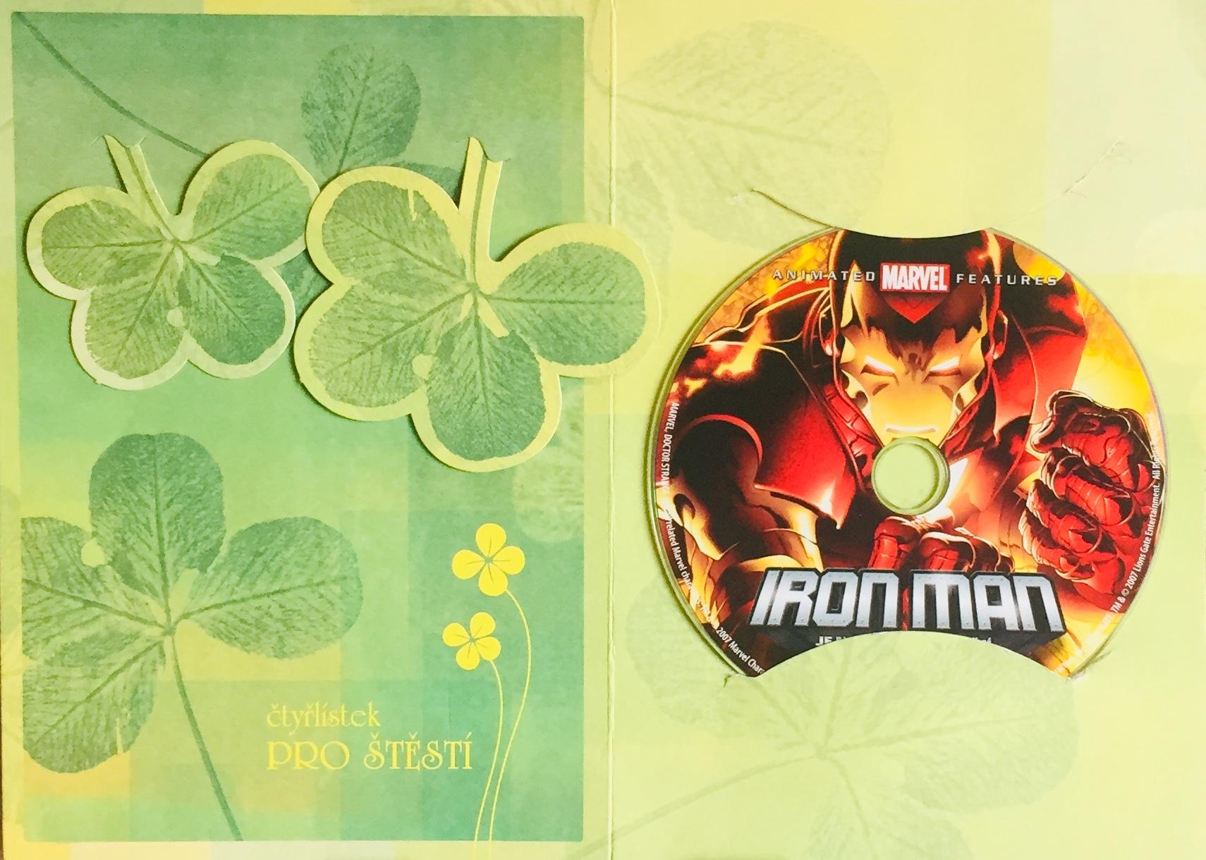 Iron Man je naší jedinou nadějí - DVD /dárkový obal/