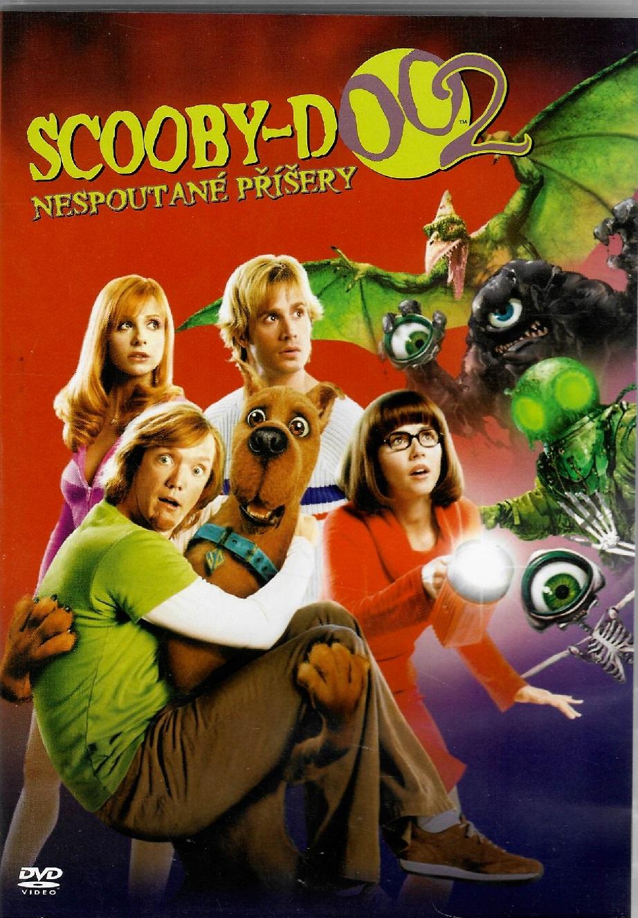 Scooby Doo 2: Nespoutané příšery -DVD plast