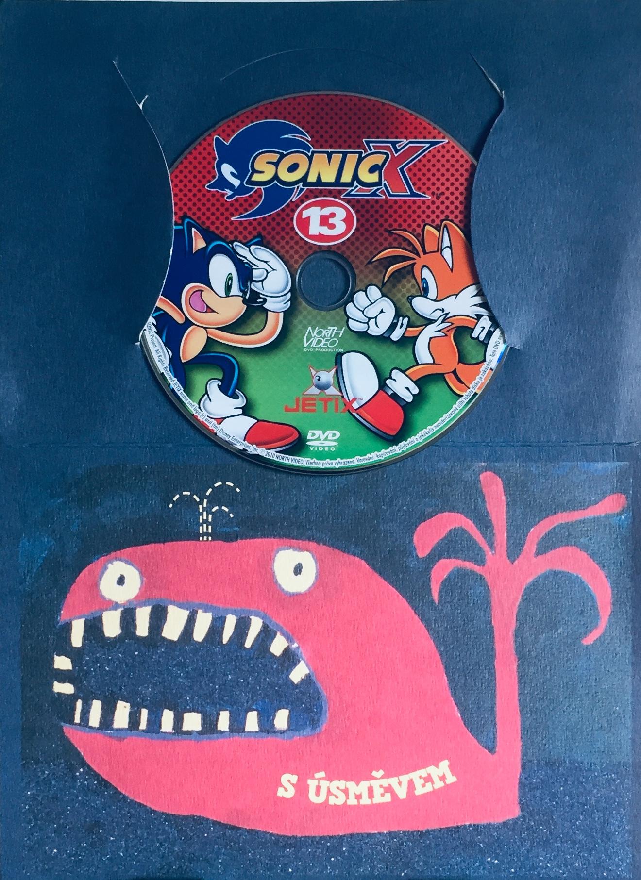 Sonic X - disk 13 - DVD /dárkový obal/
