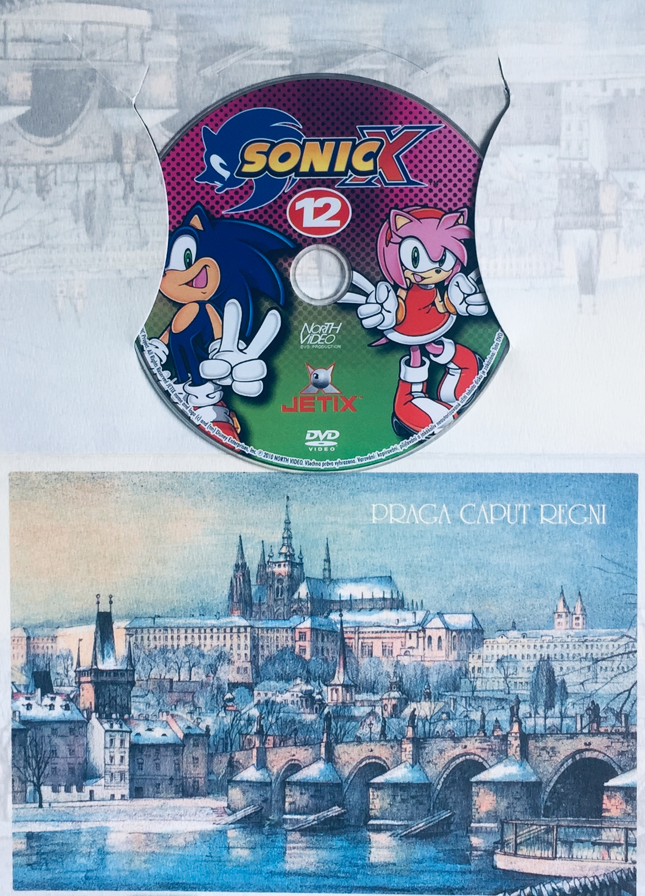 Sonic X - disk 12 - DVD /dárkový obal/