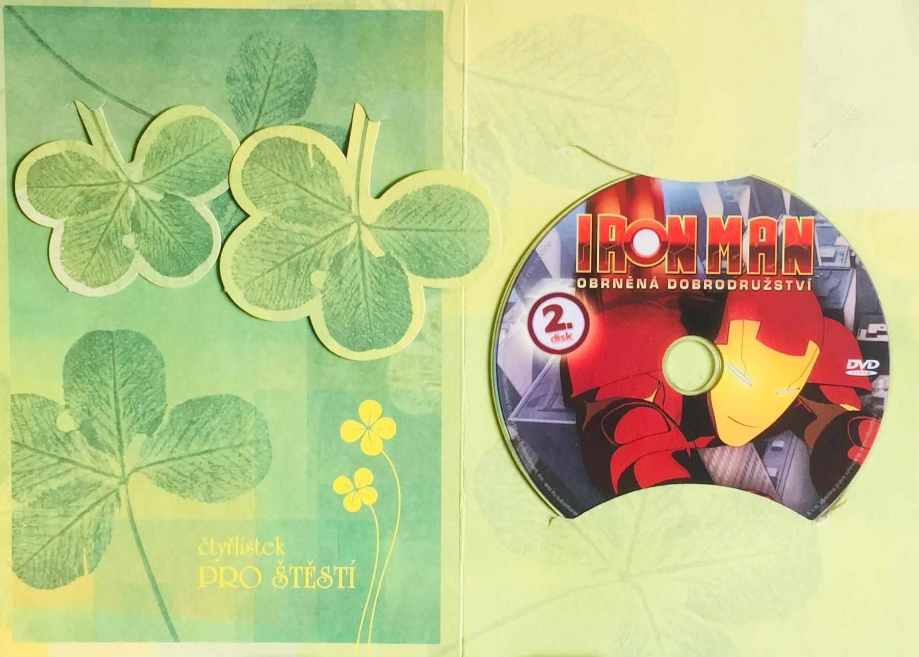 Iron Man - Obrněná dobrodružství 2 - DVD /dárkový obal/