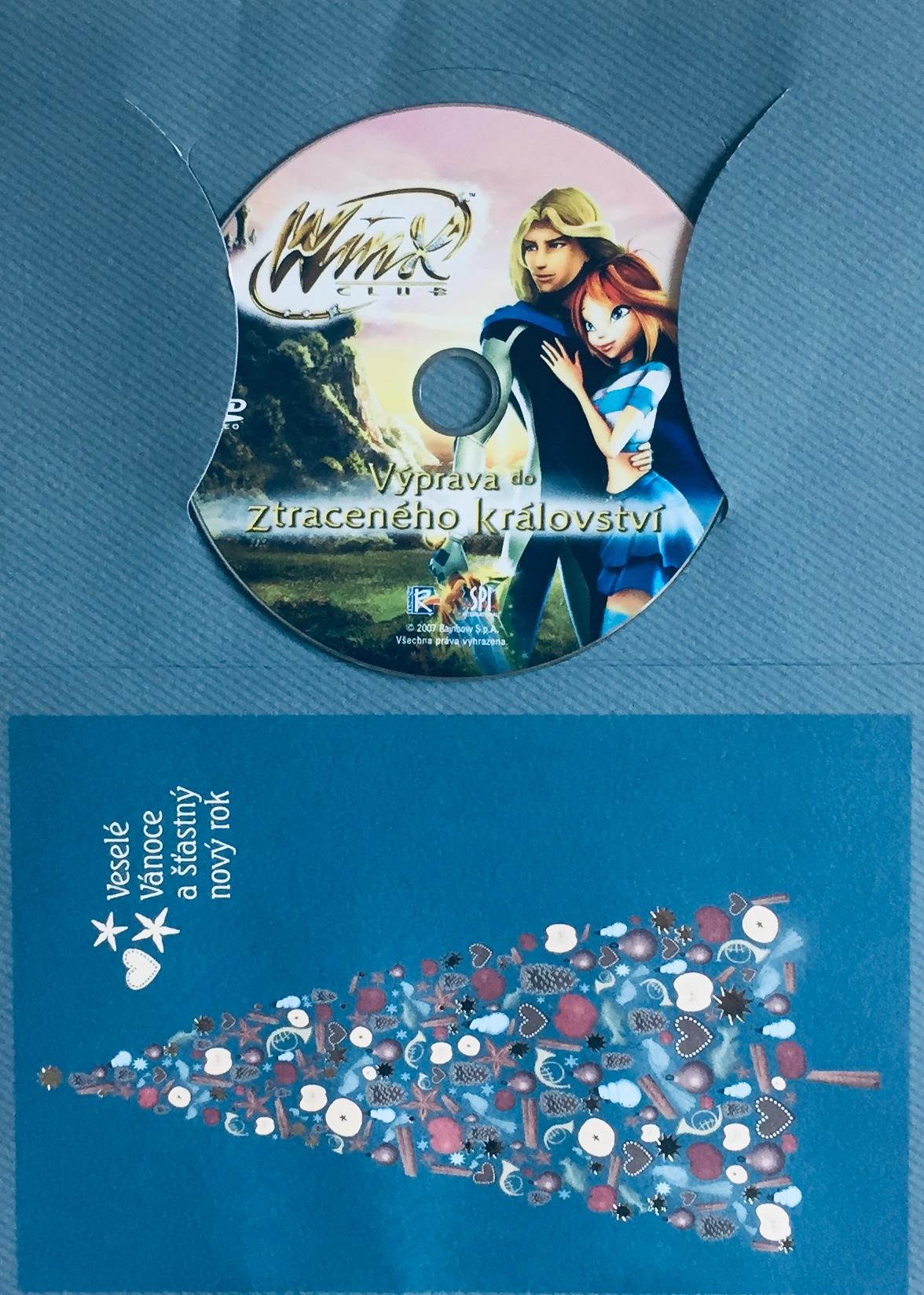 Winx Club - Výprava do Ztraceného království - DVD /dárkový obal/